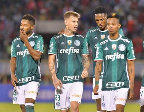 El Palmeiras viaja a Ecuador con Guerra recuperado y cuatro nuevos inscritos