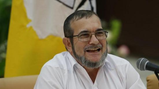 'Timoshenko', máximo líder de las FARC, dice estar mejor tras accidente cerebral