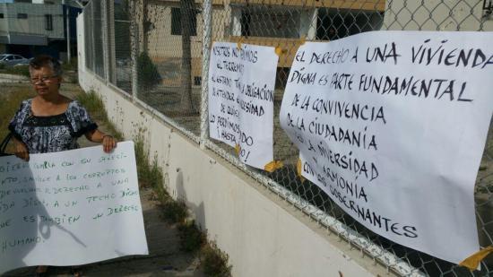 Habitantes de los bloques Tohallí reclaman ayuda tras el terremoto