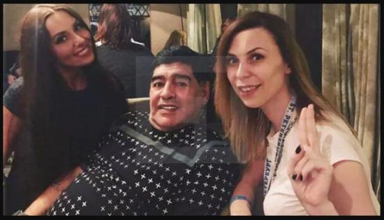 Joven periodista acusa a Maradona de acoso sexual