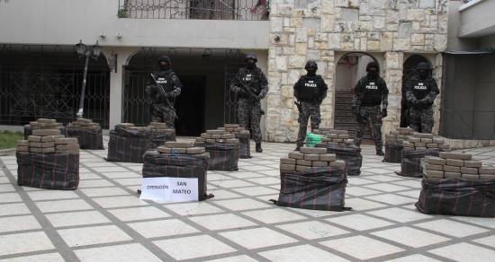 Droga hallada entre Piedra Larga y San Mateo está valorada en tres millones de dólares