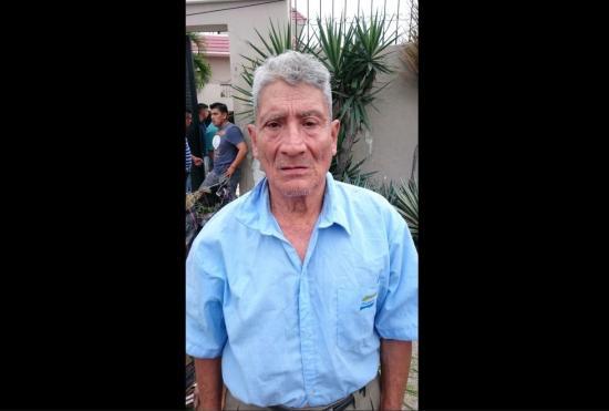 Juan Tumbaco busca a su hijo a quien no ve desde hace 30 años