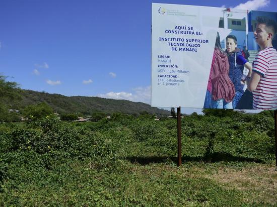 Construcción del Instituto Paulo Emilio Macías sería en el 2018
