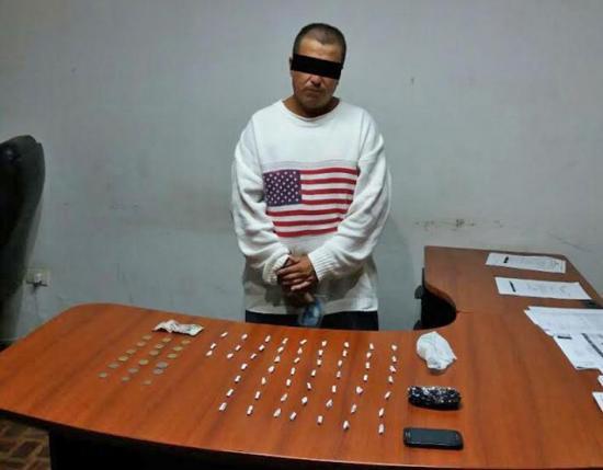 Prisión por venta de droga en San Pedro