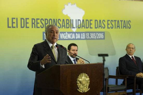 Hoy se debate la denuncia contra el expresidente brasileño Temer
