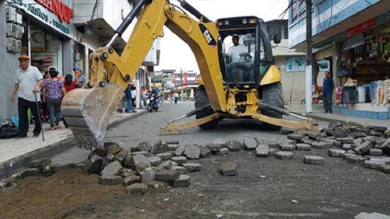 Empezó asfaltado en la Guayaquil