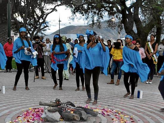 Festejan a  diosa Yemayá