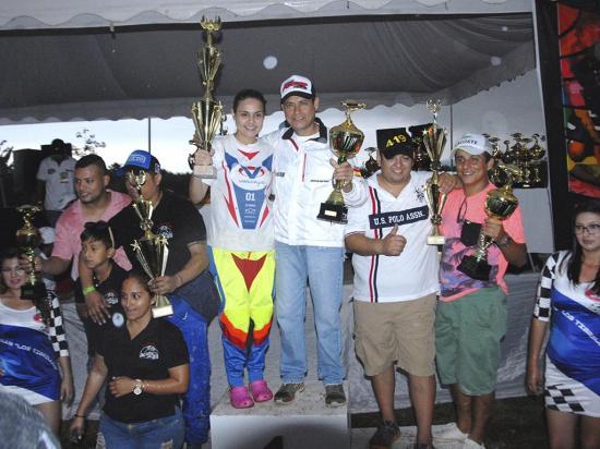 Marcelo Vallejo brilló en el rally cross