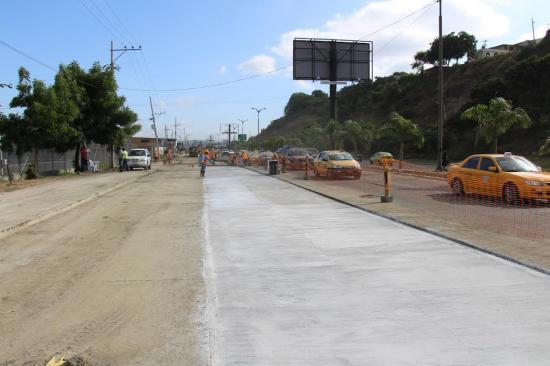 Un tramo de la avenida La Cultura, en Manta, será cerrado por 20 días