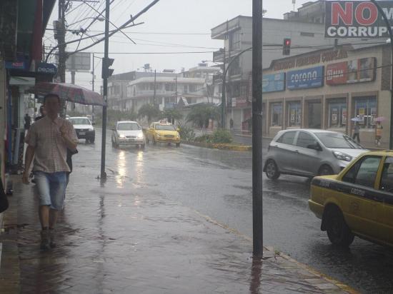 Estación registra precipitación más alta