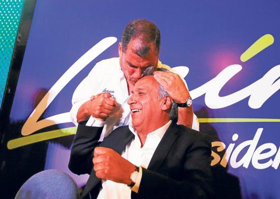 Una pugna de 3 palabras entre Moreno y Correa