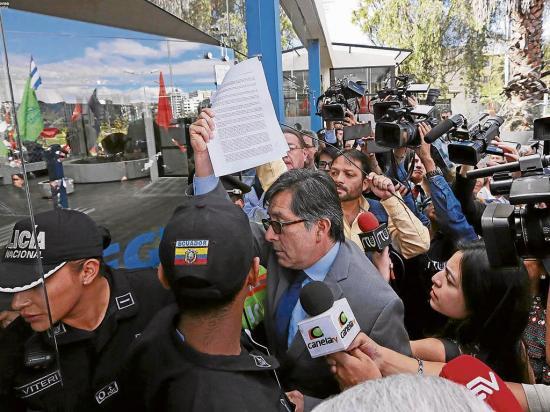 Vicepresidente declara por caso Odebrecht