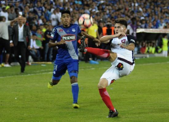 Emelec no logra superar a San Lorenzo y cae 0-1 en el Capwell