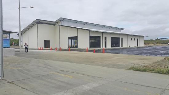 Aeropuerto de Manta estará listo en dos años