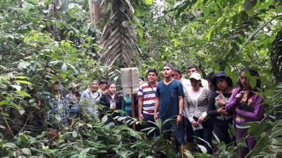 Universitarios visitan proyectos