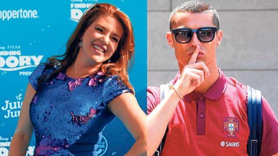 Alicia Machado critica a Cristiano Ronaldo
