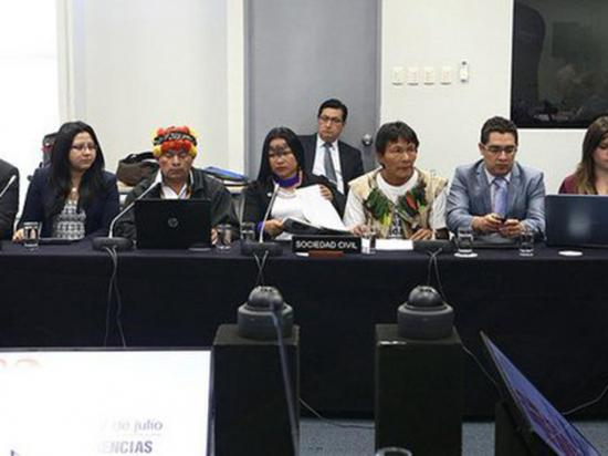 Indígenas denuncian desplazamiento  forzoso por minería