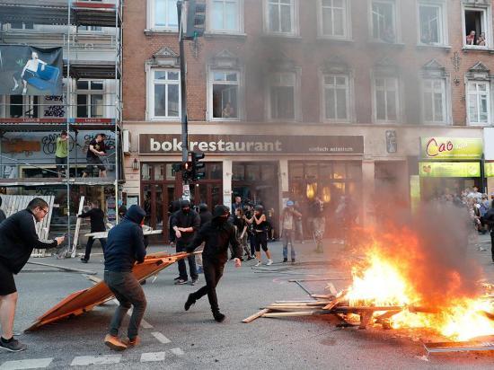 Protestas en la cumbre del G20