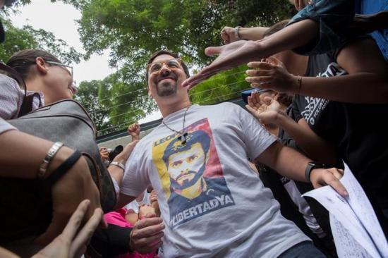 Oposición espera que liberación de López sea el inició de la rectificación