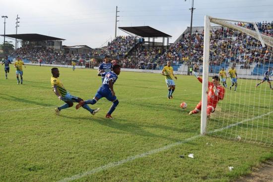 Colón FC cae 2-1 ante Santa Rita que se ubica en la cima de la tabla