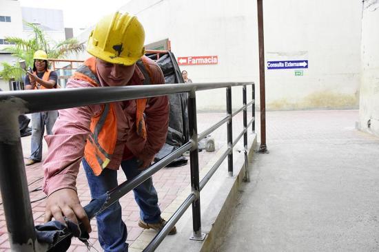 Área de hospitalización del Verdi Cevallos  estaría en septiembre
