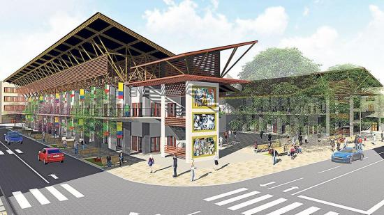Choque de propuestas para centro comercial