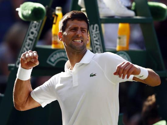 Djokovic y Federer siguen 'intratables' en  Wimbledon