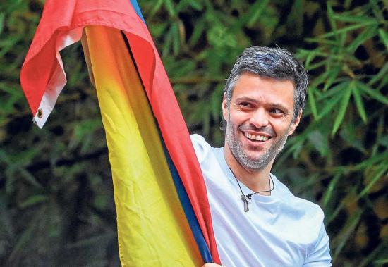 Leopoldo López con arresto domiciliario