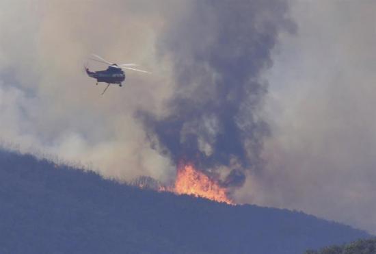 Temperaturas récord e incendios, peligrosa combinación en el oeste de EE.UU