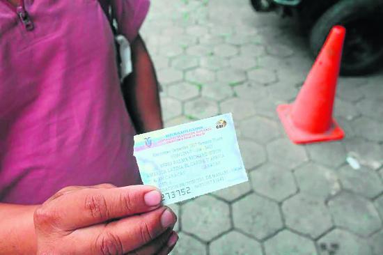 282 canjes de certificados de votación