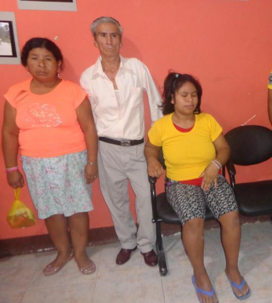 Ángela vive en estado de inconsciencia y sus familiares piden ayuda