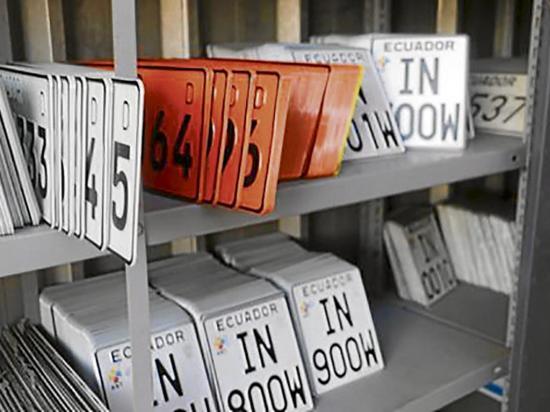 ANT envía 438 nuevas placas a Portovial