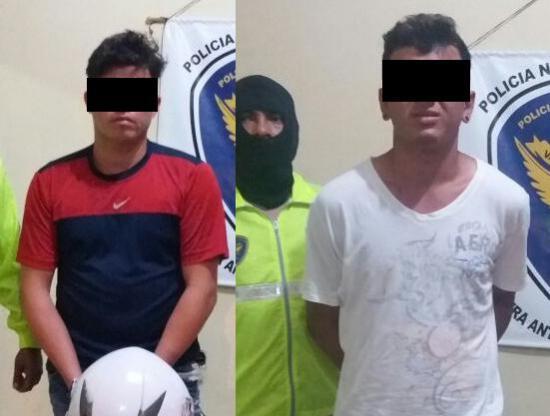 Detenidos por cargar cocaína