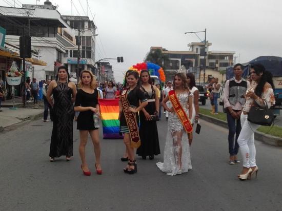 Un desfile por el Día del Orgullo Gay