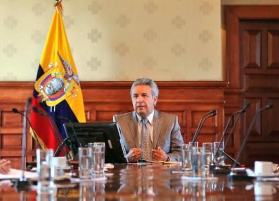 Presidente Moreno dice que la situación económica de Ecuador es 'muy difícil'