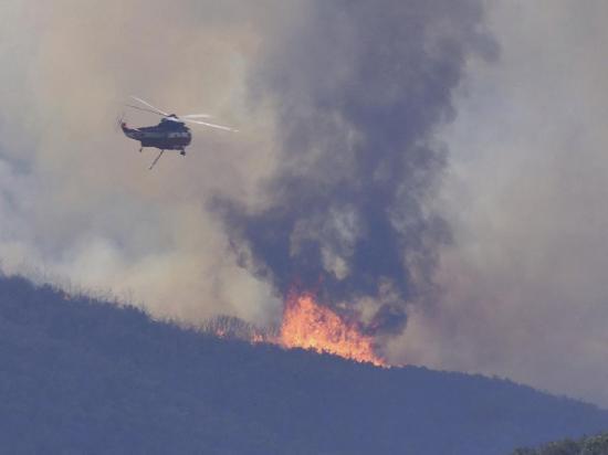 10 mil evacuados por los incendios en Estados Unidos