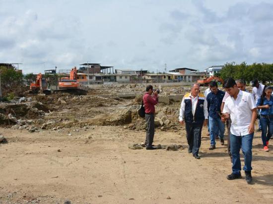 Todavía no se empieza la construcción del hospital de Chone