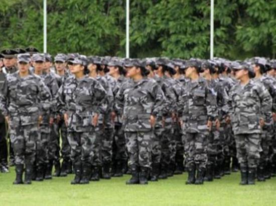 Incrementan cupos para mujeres en la Policía