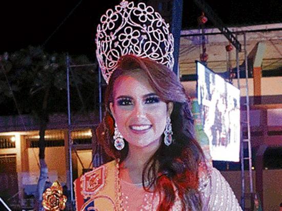 Nicole Pinilla marín es la nueva reina de la minería