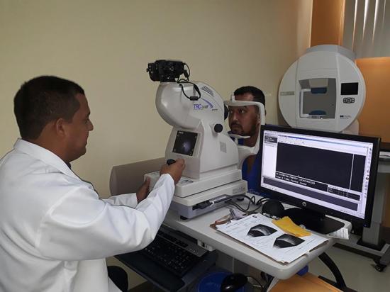 Oftalmología: en seis meses se han realizado 400 procedimientos