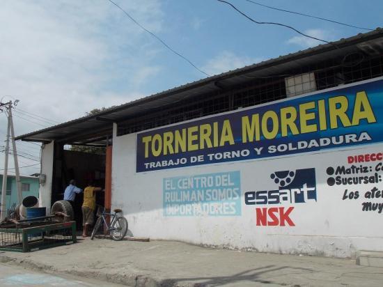 Delincuentes se llevan 1.300 dólares de una tornería en Portoviejo