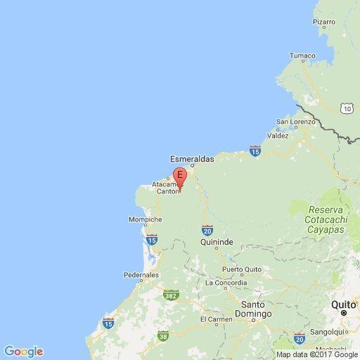 Sismo de 5,7 grados se sintió en varios cantones de Manabí