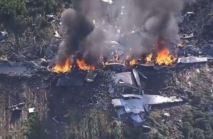 16 muertos tras caída de avión en EE.UU.