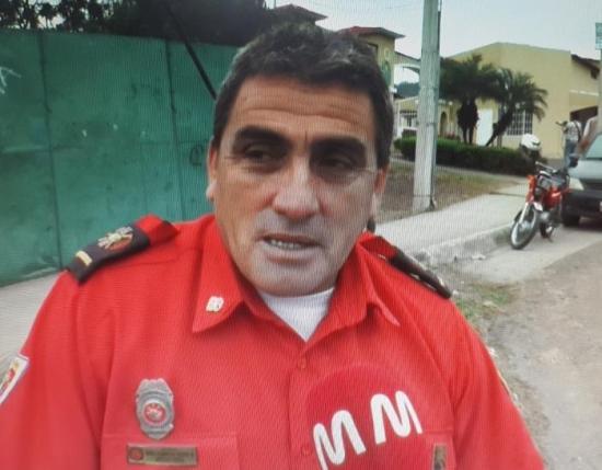William Mera es el nuevo jefe de Bomberos de Portoviejo