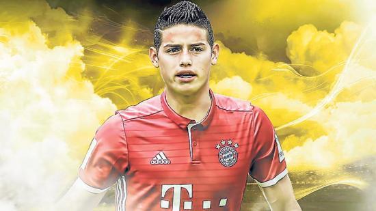 ¿Fichaje del año? James va al  Bayern