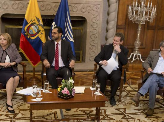 Ciudadanía universal, eje de la primera  mesa de diálogos