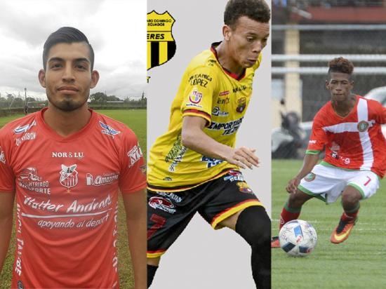 Tres goleadores