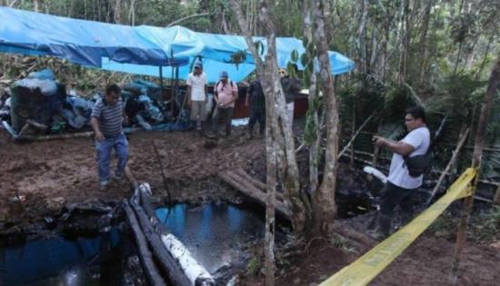 Reportan nuevo derrame de petróleo en amazonía peruana