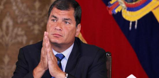 Expresidente Rafael Correa responde a Lenín Moreno y lo llama desleal y mediocre