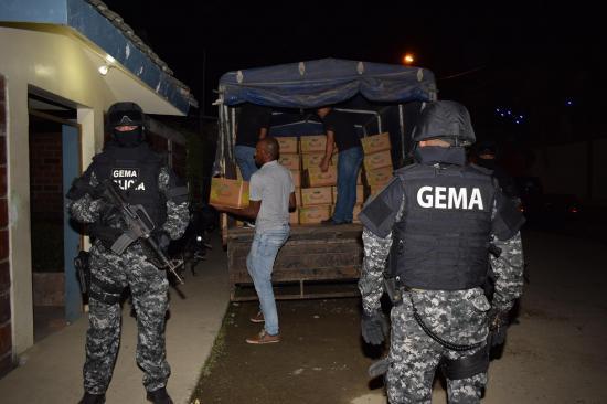 2.600 paquetes de coca